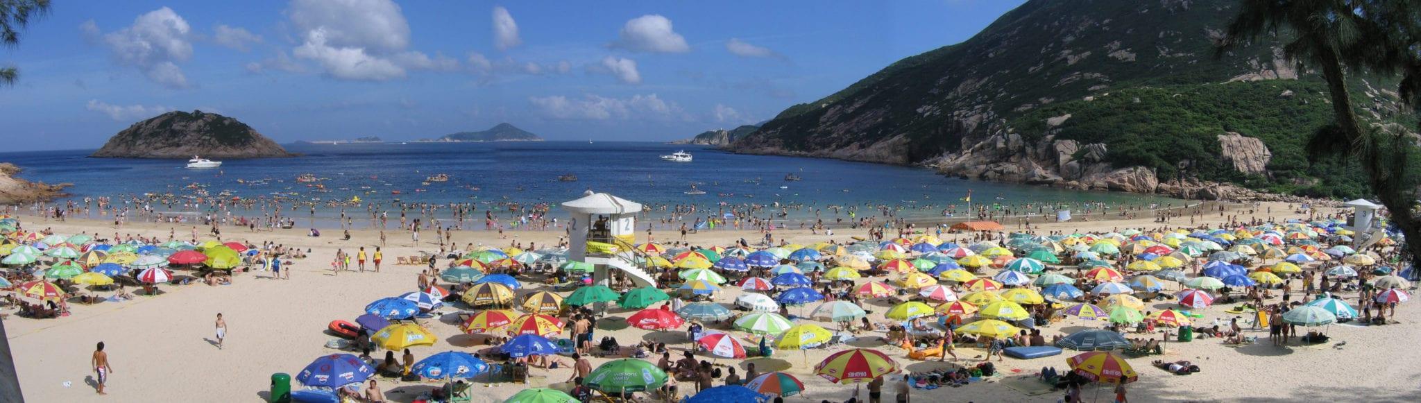 spiaggia Hong Kong